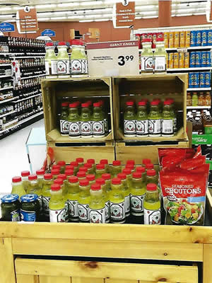 Ciciarelli Salad Dressing is available in all local supermarkets